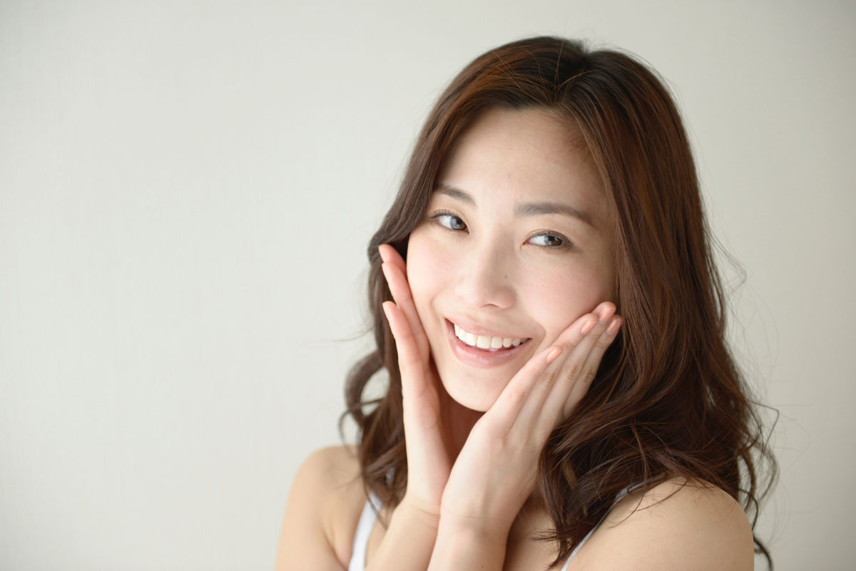 肌断食中の正しい洗顔方法